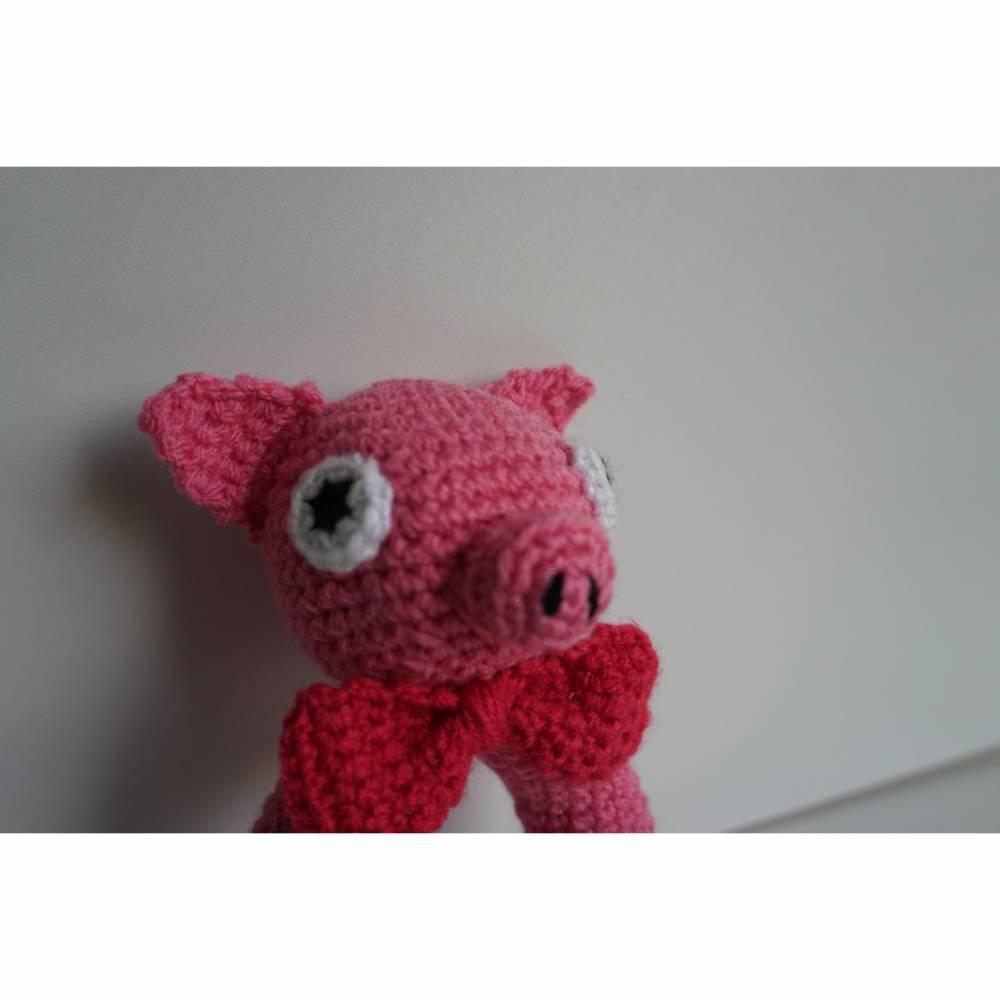 ♡ Amigurumi Greifling Piggy ♡ amigoll9 ♡  Bild 1