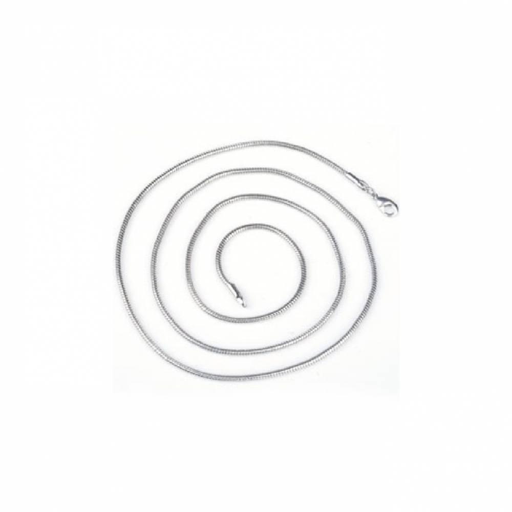 3 Stücke Metall Halskette  80cm ( 2,5mm Umfang) - Bild 1