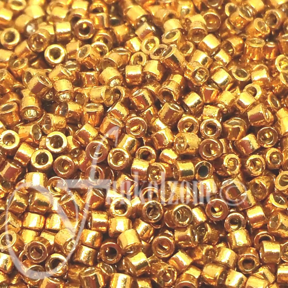 DB1833   Miyuki Delica   11/0   1,6mm   5g   DURACOAT GALVANIZED YELLOW GOLD Bild 1