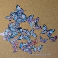 "Sticker-Set ""Butterfly"" 1, 20-teilig"