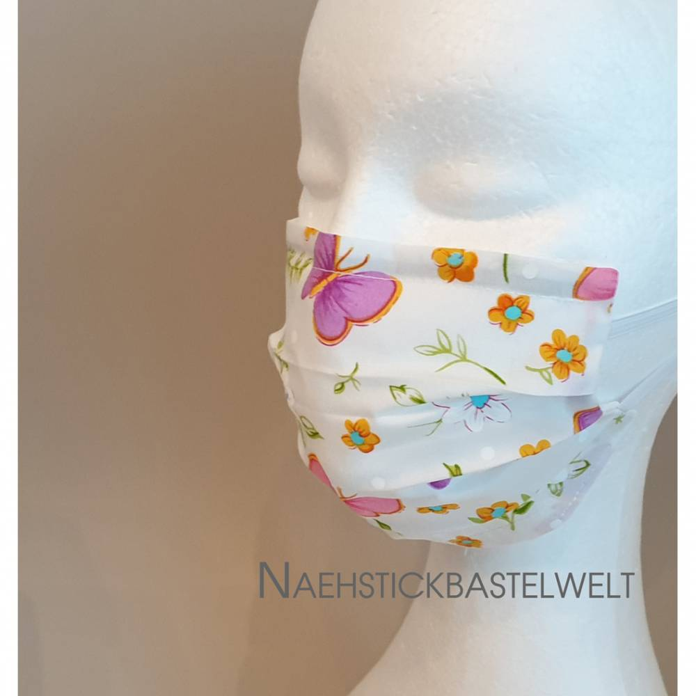 Mund- und Nasenmaske mit Nasenbügel (MS99) Bild 1