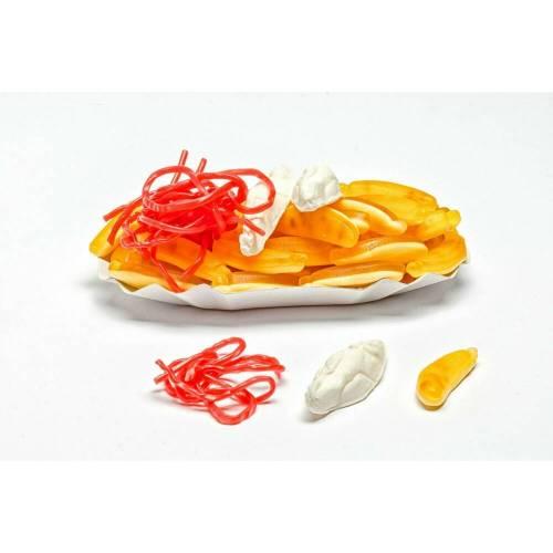 Pommes-Schale aus Fruchtgummi