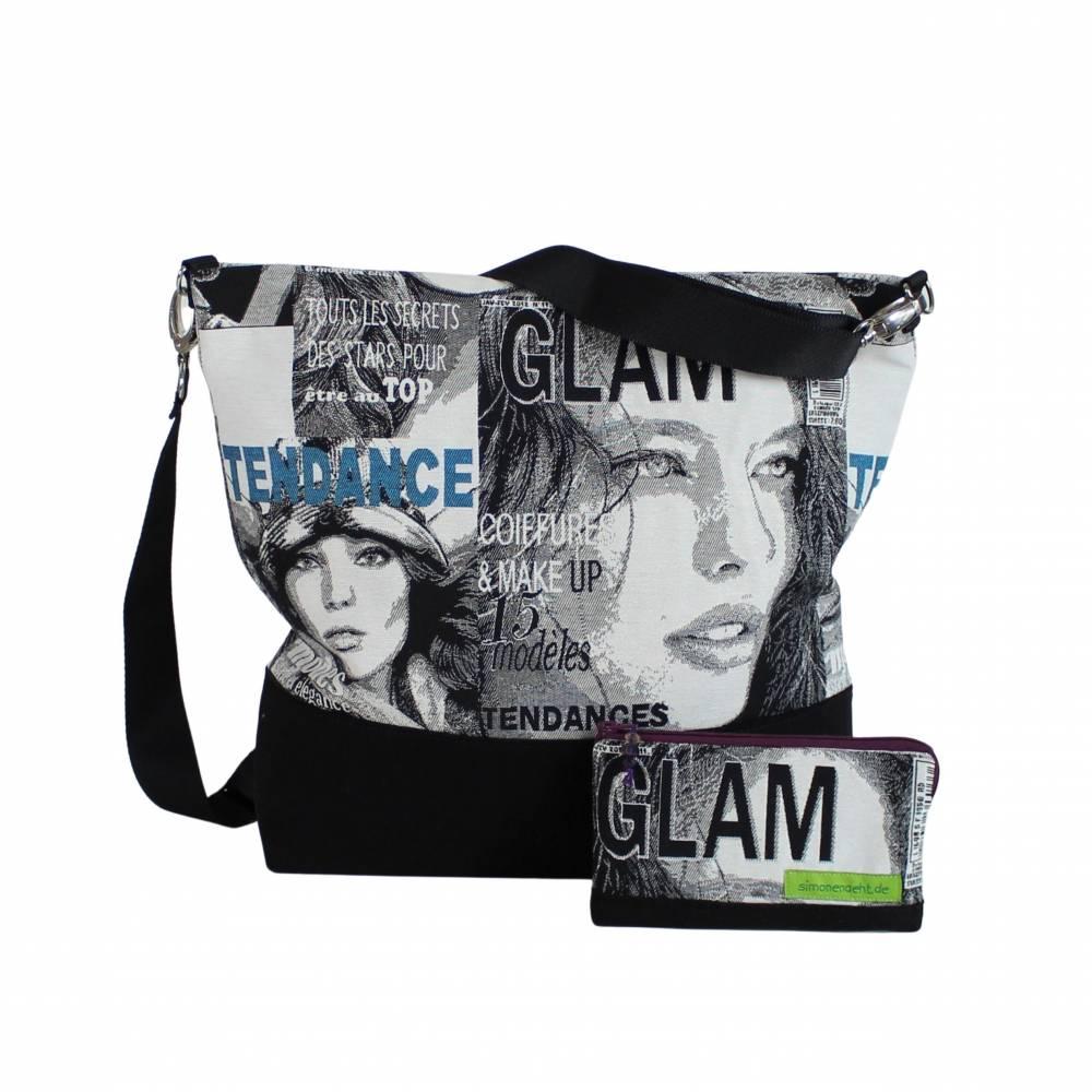 """Tasche """"Chloe""""  -das einzigartige Taschen-Duo besteht aus einer Schulter- und Kosmetiktasche Bild 1"""