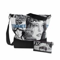 """Tasche """"Chloe""""  -das einzigartige Taschen-Duo besteht aus einer Schulter- und Kosmetiktasche Bild 2"""
