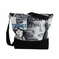 """Tasche """"Chloe""""  -das einzigartige Taschen-Duo besteht aus einer Schulter- und Kosmetiktasche Bild 3"""