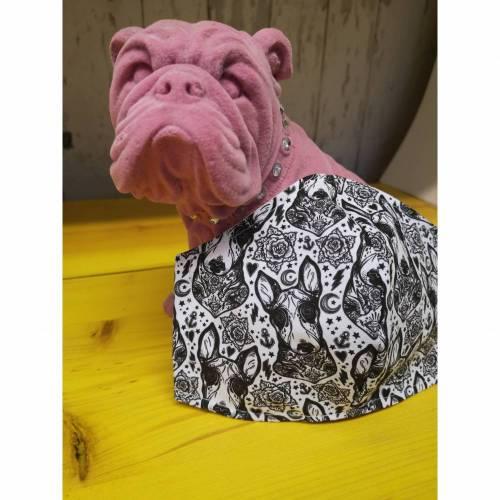 Behelfsmaske, Gesichtsmaske vintage Schwalbe Hund , Nasen-Mund-Bedeckung , Maske, snutenpulli,