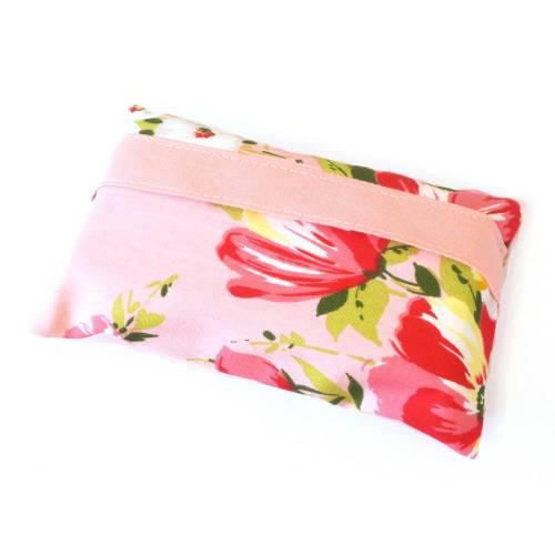 Tatüta Taschentüchertasche - rosa Blumen