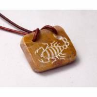 Selket's Amulett - Ägyptischer Schmuck aus Speckstein Bild 1