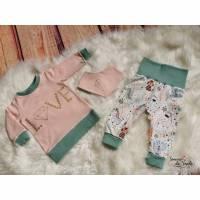 Baby Shirt, Hose und Tuch Gr. 62 Bild 1