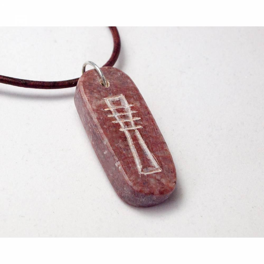 Osiris' Amulett - Ägyptischer Schmuck aus Speckstein Bild 1