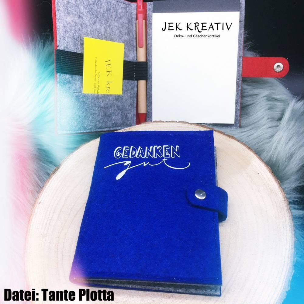 Notizbuch, Notizheft, Organizer, Gedankenstütze, Gedächtnisstütze Bild 1