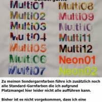Affe blau Schmusetier Kuscheltier mit Namen & Datum bestickt / personalisiert Bild 2