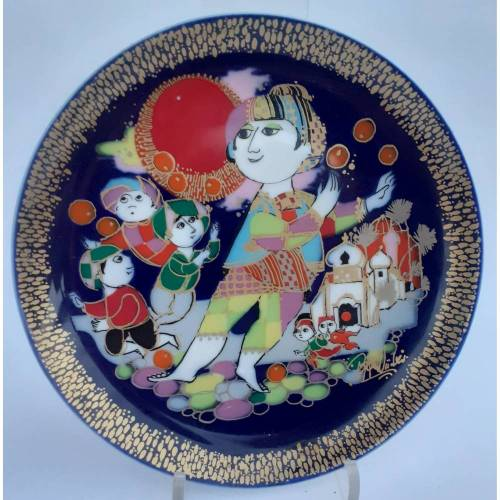 Vintage Rosenthal Wandteller Teller Aladin und die Wunderlampe II
