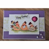 1 Glückwunschkarte Geburtstagskarte Geburtstag Herzlichen Glückwunsch Bild 1