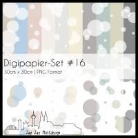 Digipapier Set #16 (Blasen) zum ausdrucken, plotten, scrappen, basteln und mehr Bild 1