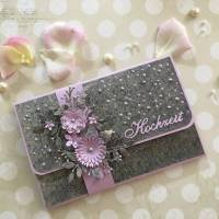 Hochzeitskarte, Geldgeschenkkarte, Gutscheinverpackung zur Hochzeit, Glückwunschkarte, Grußkarte Hochzeit Bild 1