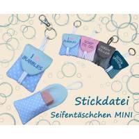 ITH Stickdatei Seifentäschchen Mini  - Kleine Tasche Seife Bild 1