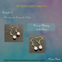 Ohrringe aus Swarovski Perlen  Bild 1