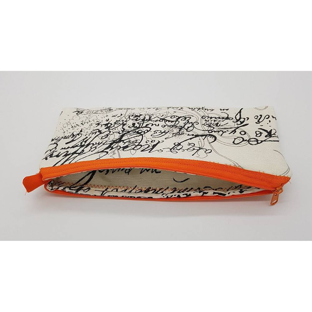 Stiftemäppchen für Schule und Büro, Kosmetiktäschchen, Reißverschlusstasche,  23x11 cm Bild 1
