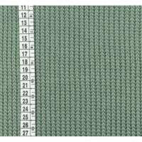 Gestricktes Baumwolle Alt Grün Bild 1