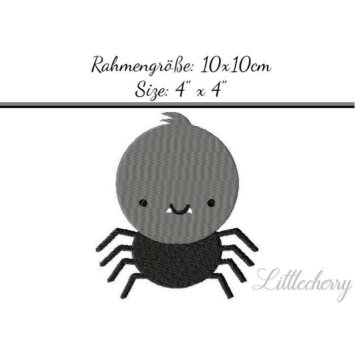 "Stickdatei ""Spider Drakula"" 10x10 Bild 1"