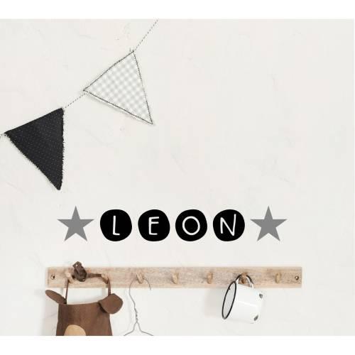 Wandtattoo, Sticker, Namensaufkleber, personalisiert, Kreise, Kinderzimmer, 5 cm