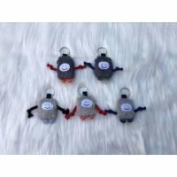 Nupsie grau; Schlüsselanhänger; Taschenanhänger; Ranzenanhänger; Geschenk Einschulung/Eingewöhnung Bild 1