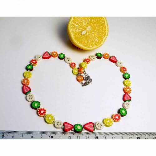 Fruchtig frische Früchtekette