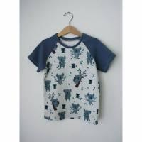 aCaso kurzarm T-Shirt aus weichem BIO Jersey Koalabear von lillestoff Bild 1