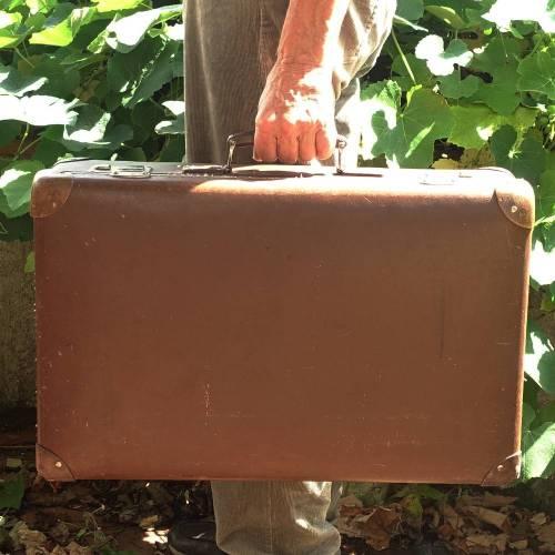 Alter Vulkanfiber Koffer aus den 30er/40er Jahren ?