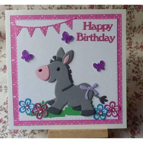 Glüchwunschkarte zum Geburtstag