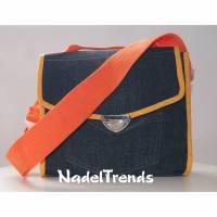 Kindertasche / Jeanstasche / Schultertasche / Umhängetasche / Messenger bag / Kindergartentasche Bild 1