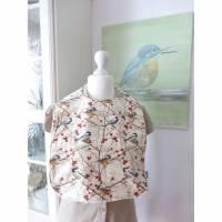 Lätzchen XXL 'Sumpfmeise', Reservierung für die Vogelmalerin
