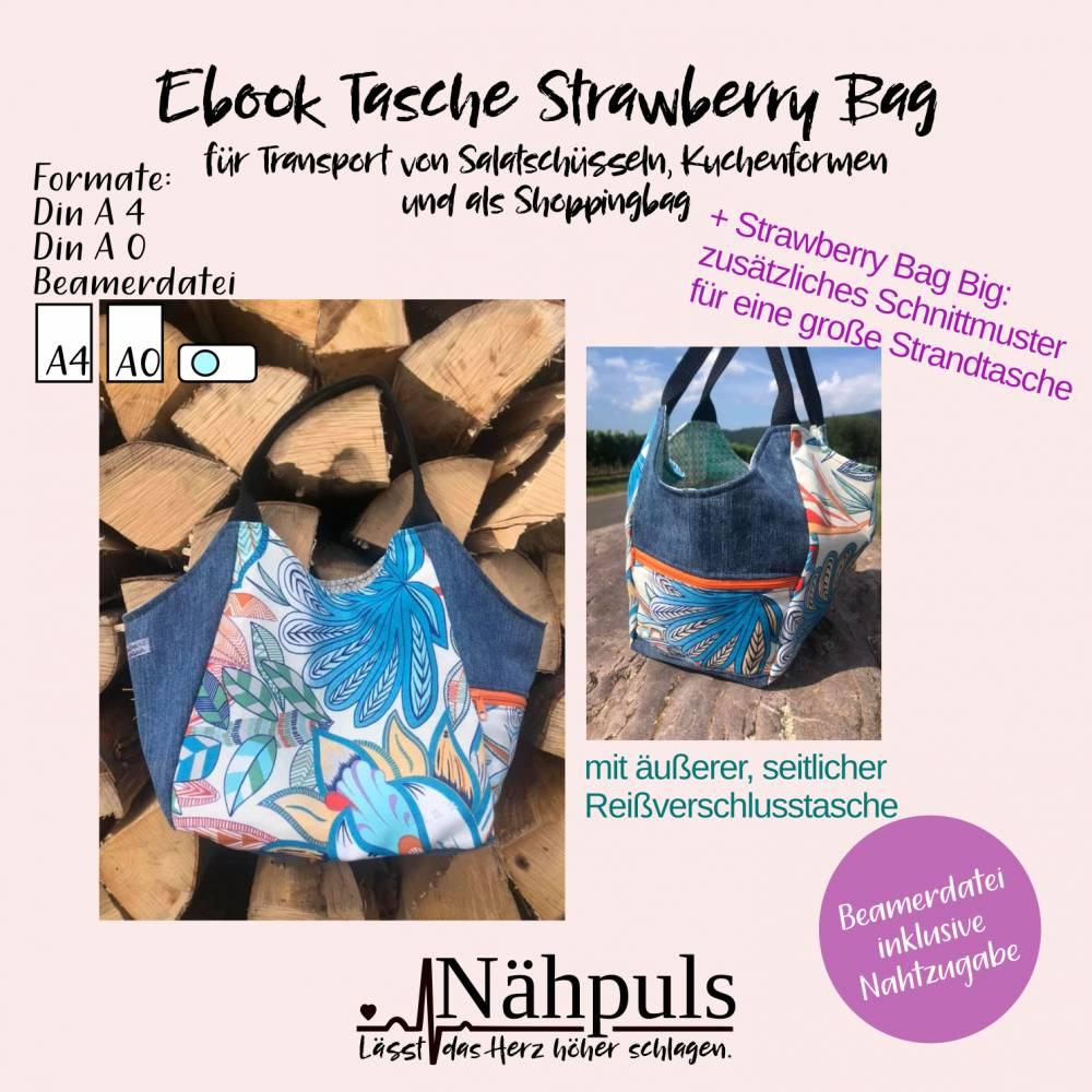 Ebook Tasche Strawberry Bag Bild 1