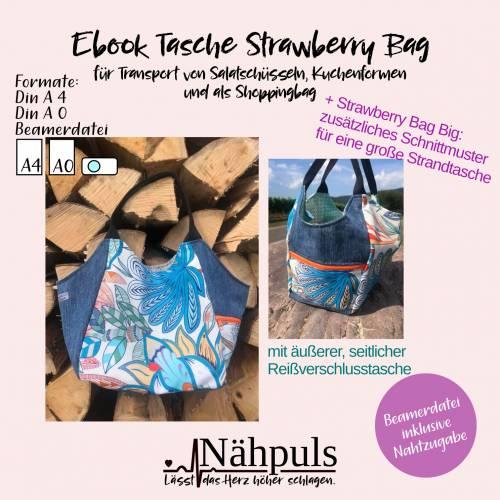 Ebook Tasche Strawberry Bag