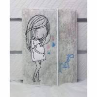 Mutterpasshüllen- Schwangerschaft Boy or Girl Bild 1