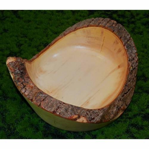 Holzschale aus Robinie, Dekoschale, Obstschale, Snackschale, Holzgeschirr
