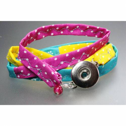 Wickelarmband für Druckknöpfe ( Ch..ks )