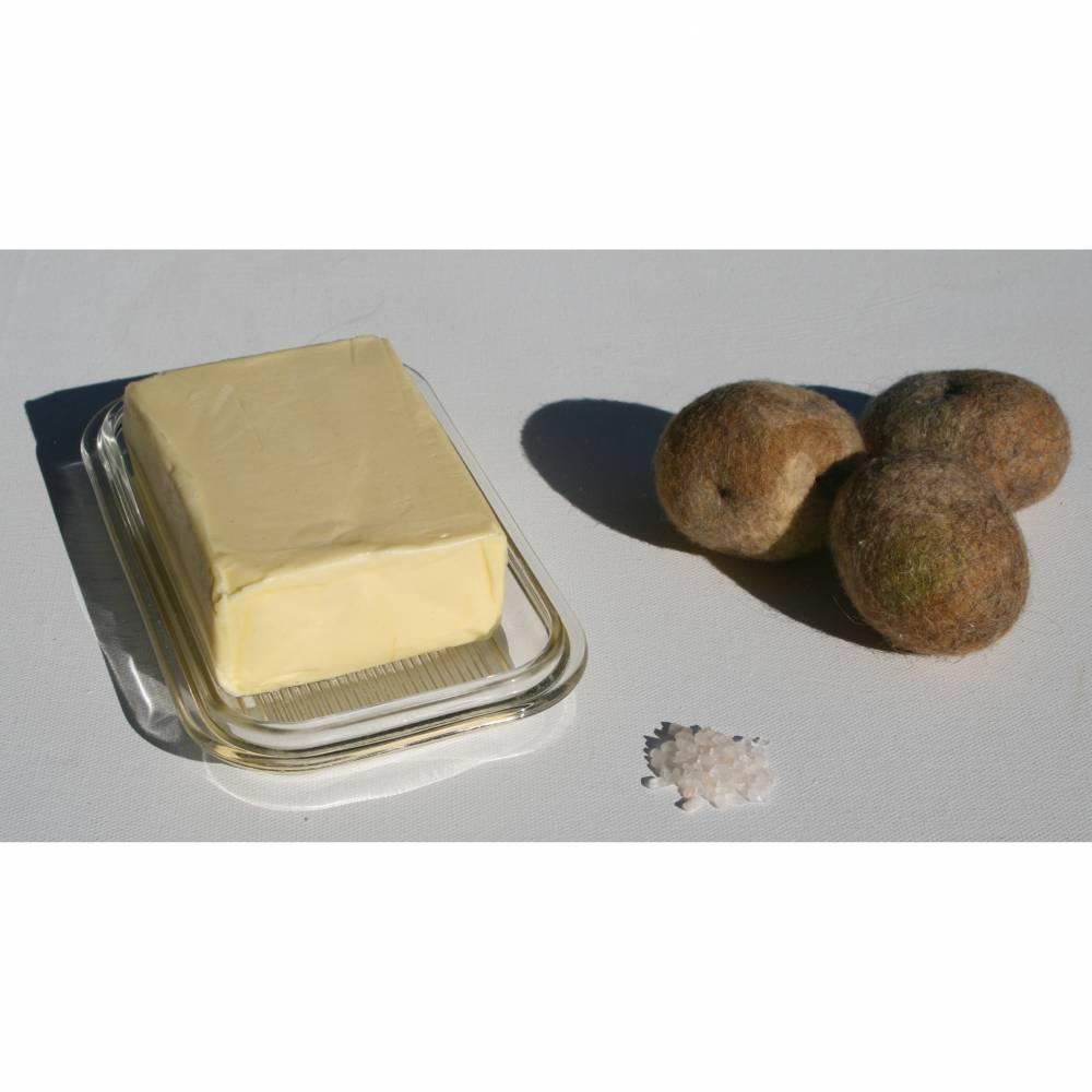 Kartoffel Neue Ernte - handgefilzt aus Wolle vom Schaf Bild 1