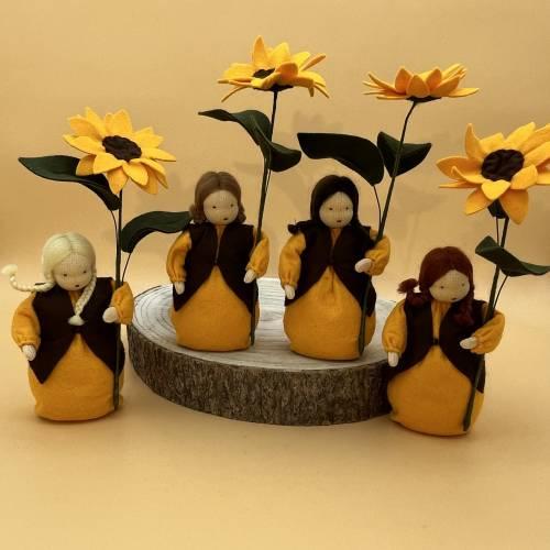 Sonnenblume -  Jahreszeitentisch - Blumenkind - Sommer