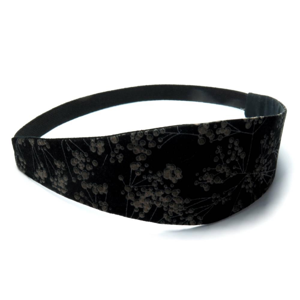 Haarband zum Wenden Stirnband floral Abschminkband Business Wendehaarband   Bild 1