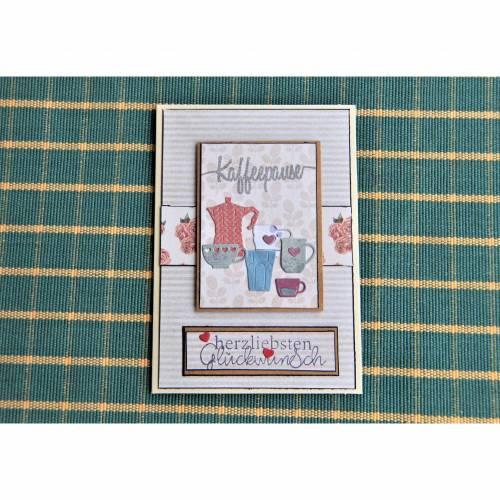 1 Glückwunschkarte neutral oder zum Geburtstag Karte Geburtstagskarte Happy Birthday