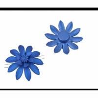 Acryl Blumen Perlen Bild 1