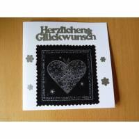 """Glückwunschkarte für """"Schwarzmaler"""", Grußkarte Bild 1"""