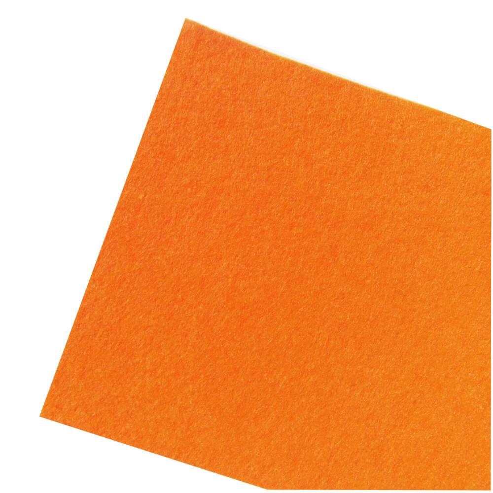 Filz orange Platte 20 x 30 cm x 2 mm Bild 1