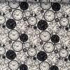 Webware mit Uhrenmuster Bild 2