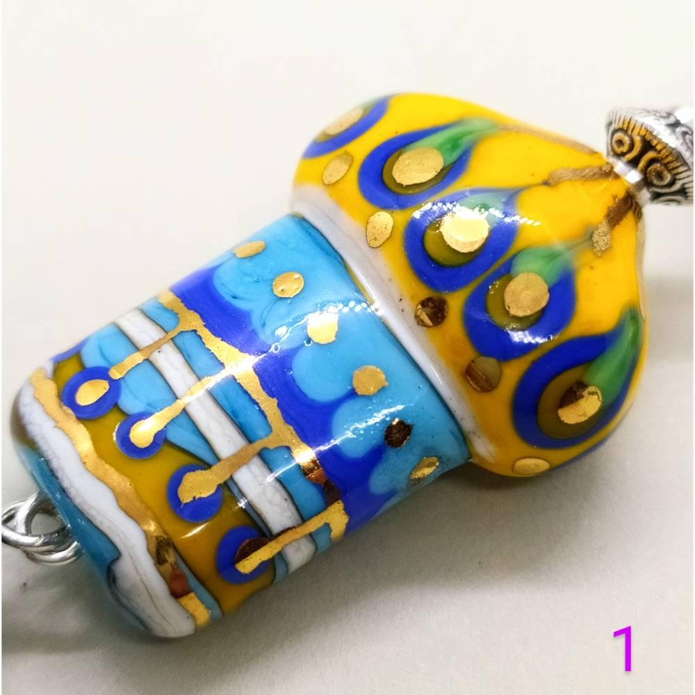Schlüsselanhänger mit Zwiebeltürmchen Bild 1