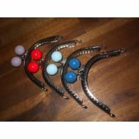 Portemonnaie Verschluss Rohling Geldbörse , kleine Tasche, Metall, verschiedene Farben Bild 1