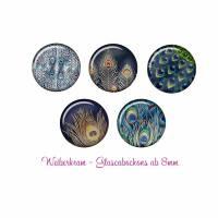 Glas Cabochon mit Motiv ab 8mm / Motivcabochon / Glass Cabochon / Material / Cabochonschmuck (1409) Bild 1