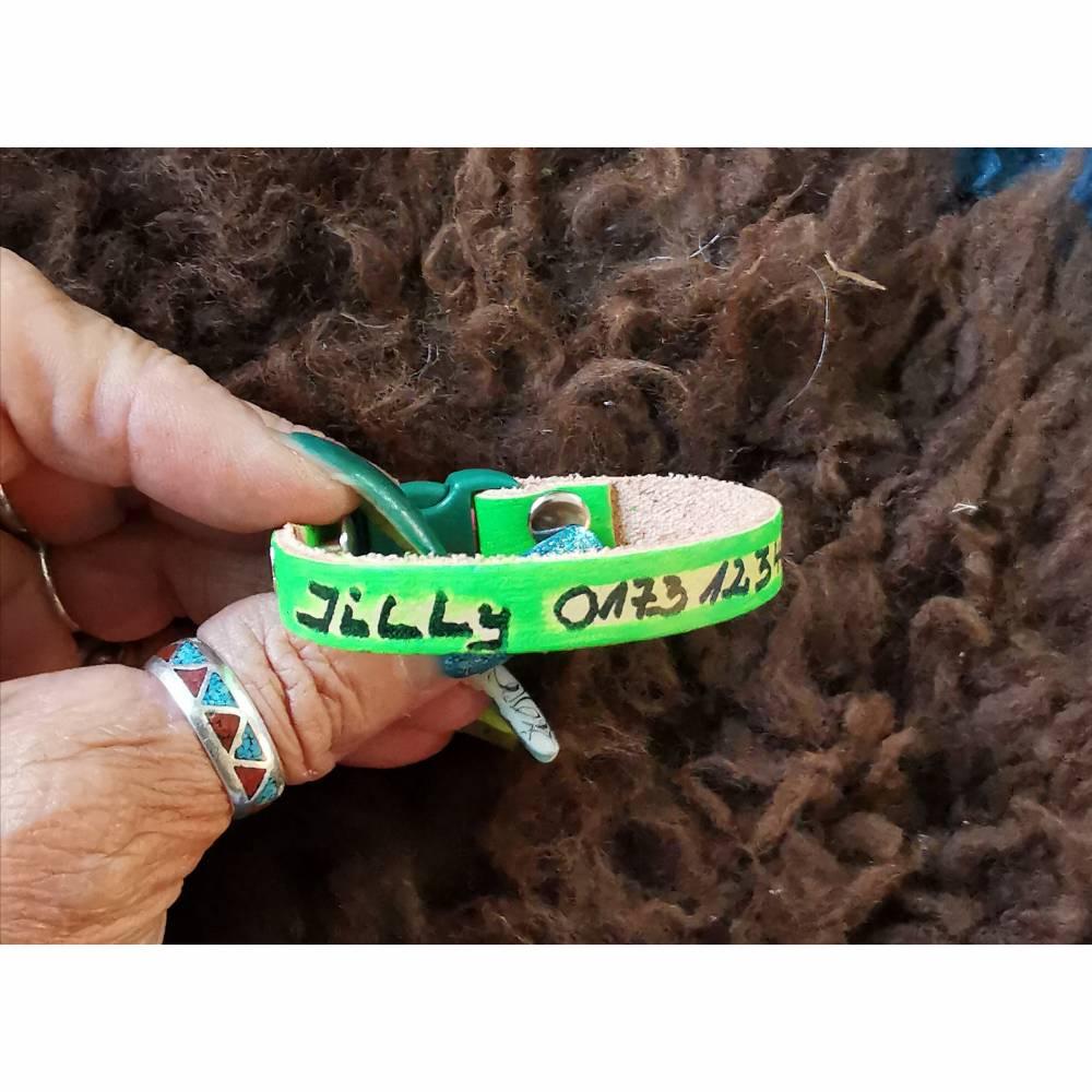 NOTFALL- ARMBAND, SOS, für Kids, grün (SOS2) )  Bild 1
